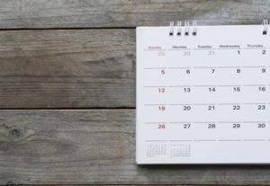 CGDA Schedule
